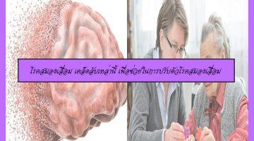 โรคสมองเสื่อม เคล็ดลับเหล่านี้ เพื่อช่วยในการปรับตัวโรคสมองเสื่อม